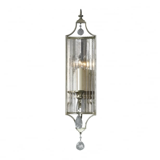 Feiss Gianna Wall Light Torchier with Gilded Silver finish