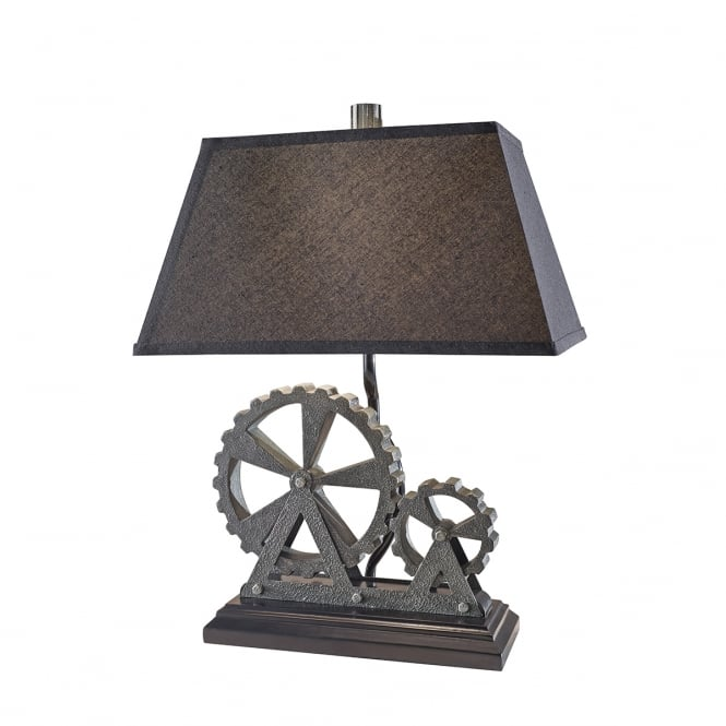 Feiss Old Industrial 1Lt Table Lamp