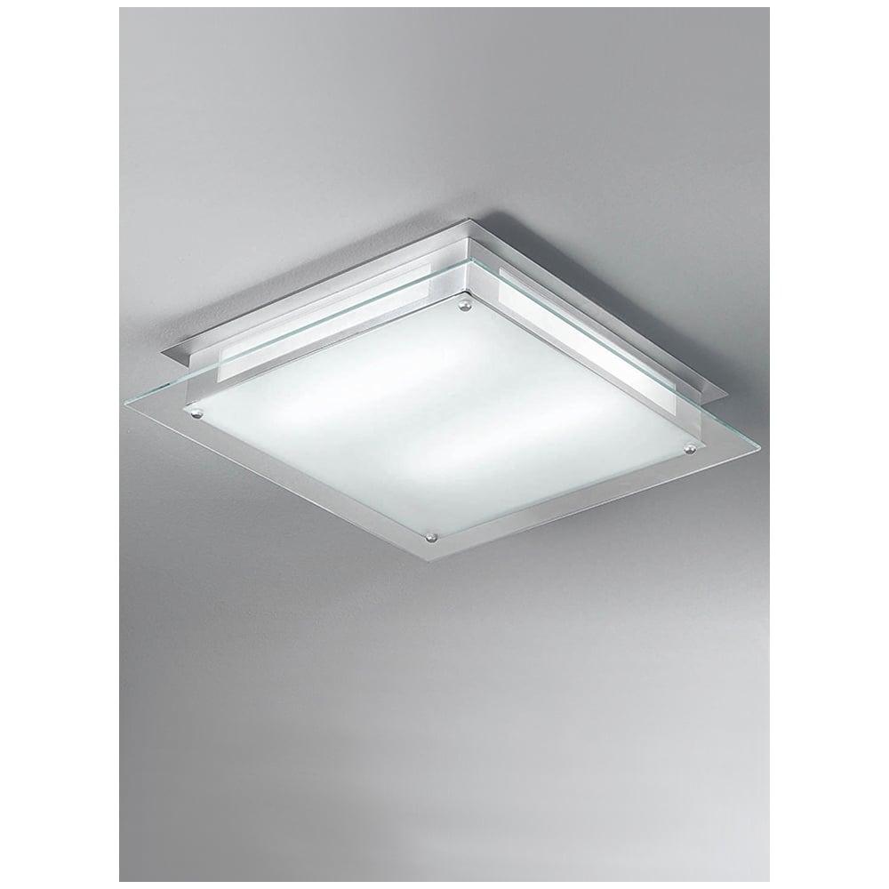 franklite cf5636el218 450mm square flush low energy ceiling