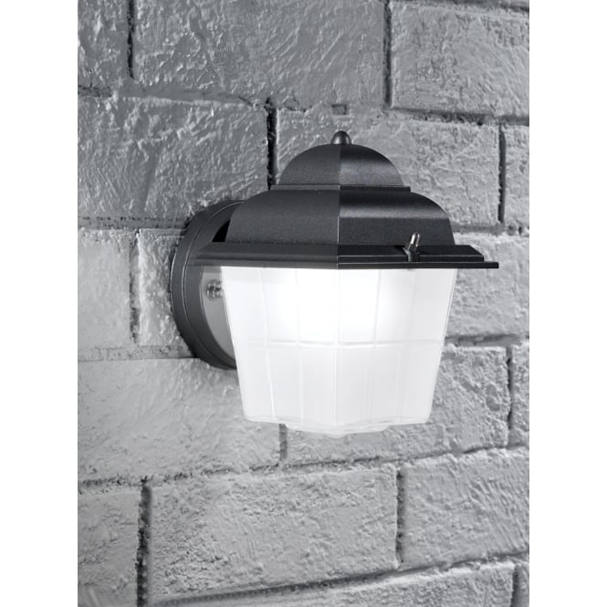 Franklite Giardino Exterior dark grey finish Wall light