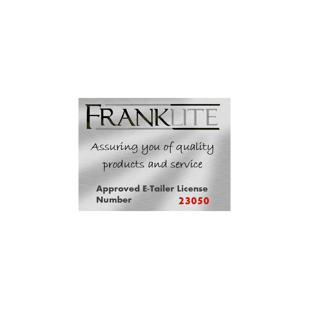 Franklite - FL2162/5 | Twista clear crystal glasses chrome