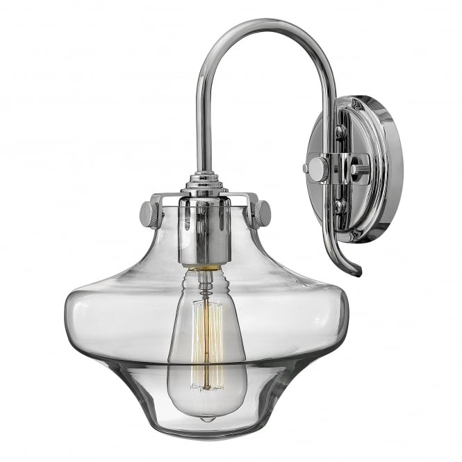 Hinkley Lighting Congress Clear Glass Wall Light
