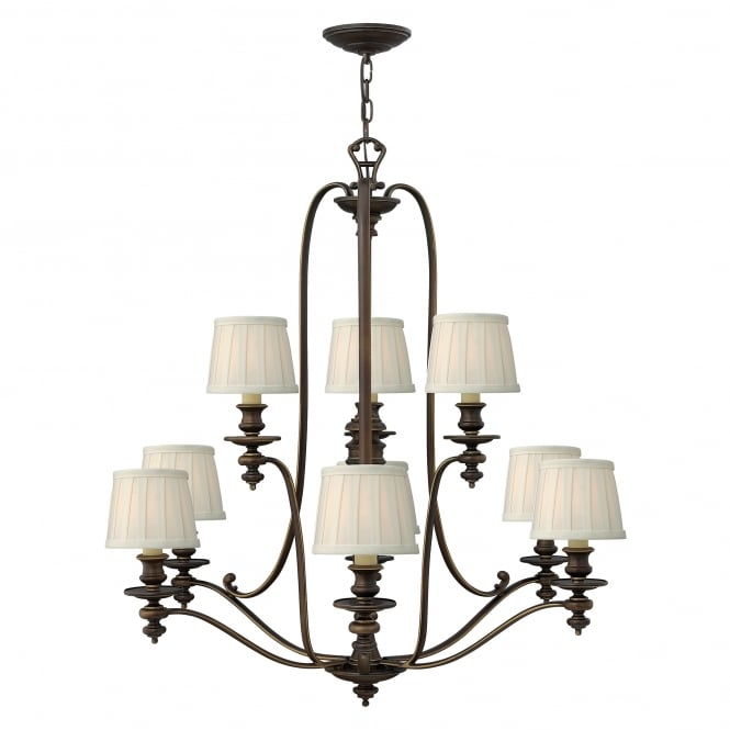 Hinkley Lighting Dunhill 9Lt Chandelier