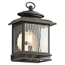 Pettiford Small Wall Lantern