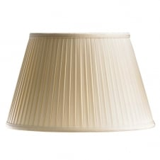Oyster 41Cm Cotton Fine Pleat Shade