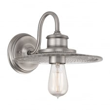 Admiral 1Lt Wall Light Antique Nickel