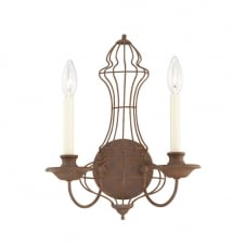 Laila 2Lt Wall Light