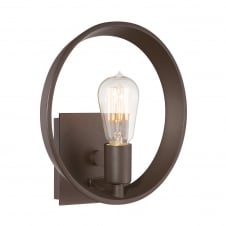 Uptowntr 1Lt Wall Light